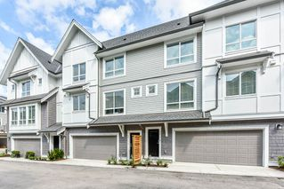 "Photo 1: 75 9718 161A Street in Surrey: Fleetwood Tynehead Townhouse for sale in ""Canopy @ Tynehead"" : MLS®# R2526722"