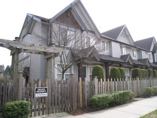 Photo 1: 90 8737 161st Street in Surrey: Fleetwood Tynehead Townhouse for sale : MLS®#  F1307593