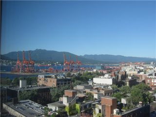 Photo 1: # 1403 108 W CORDOVA ST in Vancouver: Downtown VW Condo for sale (Vancouver West)  : MLS®# V1019298