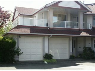 "Photo 1: 9 31406 UPPER MACLURE Road in Abbotsford: Abbotsford West Townhouse for sale in ""ELLWOOD ESTATES"" : MLS®# F1410624"