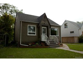 Photo 1: 524 St Catherine Street in WINNIPEG: St Boniface Residential for sale (South East Winnipeg)  : MLS®# 1423542