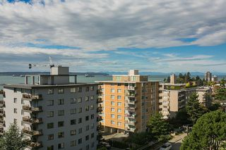 "Photo 3: 801 555 13TH Street in West Vancouver: Ambleside Condo for sale in ""PARKVIEW TOWERS"" : MLS®# R2105654"