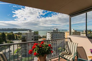"Photo 2: 801 555 13TH Street in West Vancouver: Ambleside Condo for sale in ""PARKVIEW TOWERS"" : MLS®# R2105654"