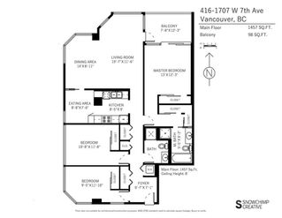 """Photo 20: 416 1707 W 7TH Avenue in Vancouver: Fairview VW Condo for sale in """"Santa Fe"""" (Vancouver West)  : MLS®# R2175569"""