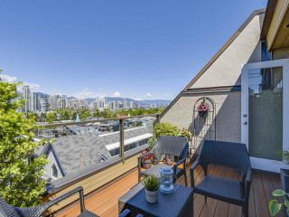 Photo 14: 2268 ALDER STREET in Vancouver: Fairview VW Townhouse for sale (Vancouver West)  : MLS®# R2173350