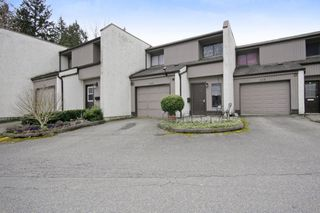 "Photo 1: 113 3455 WRIGHT Street in Abbotsford: Matsqui Townhouse for sale in ""Laburbum Mews"" : MLS®# R2251975"