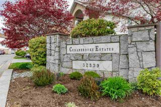 "Main Photo: 41 32339 7TH Avenue in Mission: Mission BC Townhouse for sale in ""Cedarbrooke Estates"" : MLS®# R2360147"