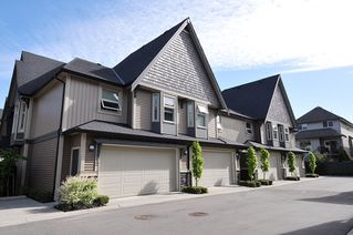 "Photo 1: 10 19095 MITCHELL Road in Pitt Meadows: Central Meadows Townhouse for sale in ""BROGDEN BROWN"" : MLS®# R2367629"