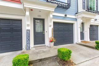 "Photo 1: 110 3010 RIVERBEND Drive in Coquitlam: Coquitlam East Townhouse for sale in ""WESTWOOD WEST"" : MLS®# R2384326"