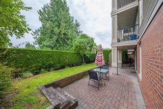 Photo 1: 102 1576 GRANT Avenue in Port Coquitlam: Glenwood PQ Condo for sale : MLS®# R2387470