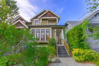 Photo 2: 1253 E 14TH Avenue in Vancouver: Mount Pleasant VE House 1/2 Duplex for sale (Vancouver East)  : MLS®# R2398819