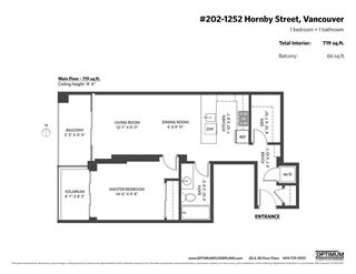Photo 20: 202 1252 HORNBY Street in Vancouver: Downtown VW Condo for sale (Vancouver West)  : MLS®# R2428176