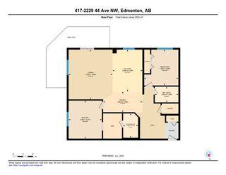 Photo 41: 417 2229 44 Avenue in Edmonton: Zone 30 Condo for sale : MLS®# E4201923