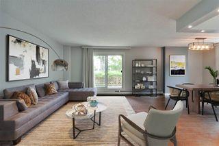 Photo 2: 101 9929 113 Street in Edmonton: Zone 12 Condo for sale : MLS®# E4211586