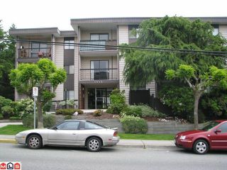 "Photo 1: 309 1442 BLACKWOOD Street: White Rock Condo for sale in ""Blackwood Manor"" (South Surrey White Rock)  : MLS®# F1115697"