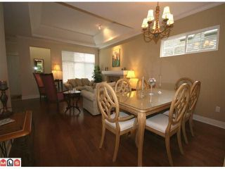 """Photo 3: 71 15500 ROSEMARY HEIGHTS Crescent in Surrey: Morgan Creek Townhouse for sale in """"The Carrington"""" (South Surrey White Rock)  : MLS®# F1125752"""