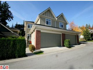 """Photo 1: 71 15500 ROSEMARY HEIGHTS Crescent in Surrey: Morgan Creek Townhouse for sale in """"The Carrington"""" (South Surrey White Rock)  : MLS®# F1125752"""