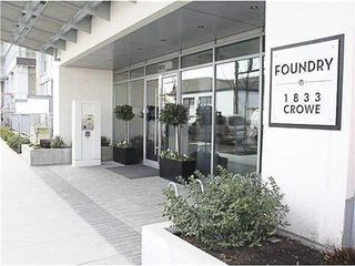 """Photo 18: 805 1833 CROWE Street in Vancouver: False Creek Condo for sale in """"THE FOUNDRY"""" (Vancouver West)  : MLS®# R2120097"""