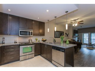 "Photo 5: 103 2368 MARPOLE Avenue in Port Coquitlam: Central Pt Coquitlam Condo for sale in ""RIVER ROCK LANDING"" : MLS®# R2156239"