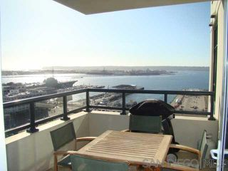 Photo 2: DOWNTOWN Condo for rent : 2 bedrooms : 1199 Pacific Hwy #1904 in San Diego