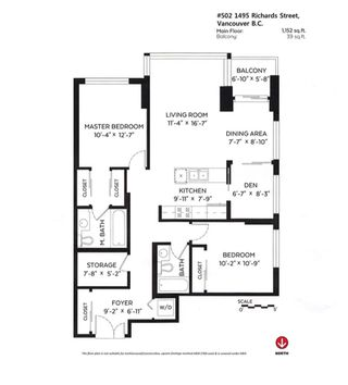 """Photo 20: 502 1495 RICHARDS Street in Vancouver: Yaletown Condo for sale in """"Yaletown"""" (Vancouver West)  : MLS®# R2264375"""