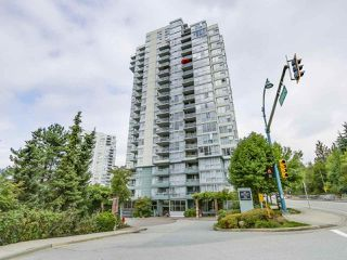 "Photo 1: 1107 295 GUILDFORD Way in Port Moody: North Shore Pt Moody Condo for sale in ""Bentley"" : MLS®# R2325613"
