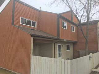 Main Photo: 129 KASKITAYO Court in Edmonton: Zone 16 Townhouse for sale : MLS®# E4152892