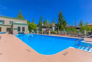 """Photo 1: 205 13888 70 Avenue in Surrey: East Newton Townhouse for sale in """"Chelsea Gardens"""" : MLS®# R2369176"""