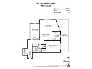 Photo 31: 102 288 E 14TH Avenue in Vancouver: Mount Pleasant VE Condo for sale (Vancouver East)  : MLS®# R2478776