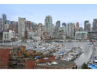 "Photo 1: 805 1450 PENNYFARTHING Drive in Vancouver: False Creek Condo for sale in ""Harbour Cove One"" (Vancouver West)  : MLS®# V878118"