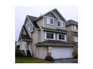 """Photo 1: 34 1108 RIVERSIDE Close in Port Coquitlam: Riverwood Townhouse for sale in """"HERITAGE MEADOWS"""" : MLS®# V899337"""