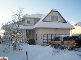 Photo 1: 3281 PONDEROSA Street in Abbotsford: Abbotsford West House for sale : MLS®# F1201131