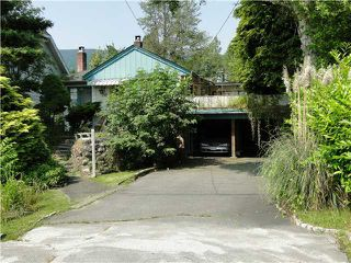 Main Photo: 1337 Gordon Avenue in West Vancouver: Ambleside House  (Whistler)  : MLS®# V969174