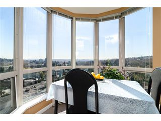"""Photo 6: 1405 9623 MANCHESTER Drive in Burnaby: Cariboo Condo for sale in """"STRATHMORE TOWERS"""" (Burnaby North)  : MLS®# V1053890"""