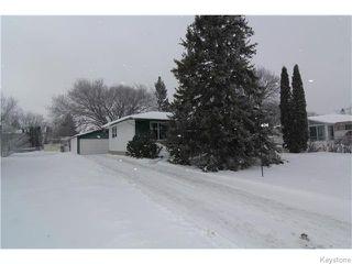 Photo 1: 406 Rouge Road in WINNIPEG: Westwood / Crestview Residential for sale (West Winnipeg)  : MLS®# 1600454