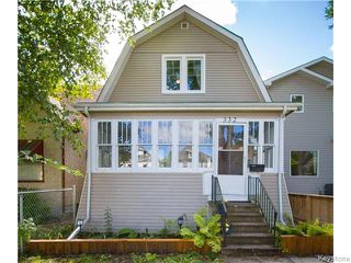 Photo 1: 332 Machray Avenue in Winnipeg: Sinclair Park Residential for sale (4C)  : MLS®# 1624346
