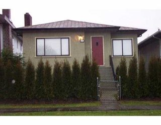 Main Photo: 121 E 42ND Ave in Vancouver: Main House for sale (Vancouver East)  : MLS®# V628107
