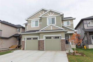Main Photo: 8571 CUSHING Place in Edmonton: Zone 55 House Half Duplex for sale : MLS®# E4135996