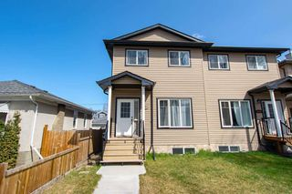 Main Photo: 10822 64 Avenue in Edmonton: Zone 15 House Half Duplex for sale : MLS®# E4156702
