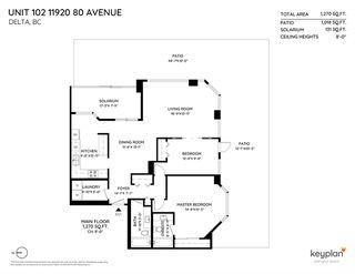 Photo 20: 102 11920 80 AVENUE in Delta: Scottsdale Condo for sale (N. Delta)  : MLS®# R2412820