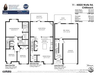 """Photo 36: 11 45025 WOLFE Road in Chilliwack: Chilliwack W Young-Well Townhouse for sale in """"Centre Field"""" : MLS®# R2527936"""