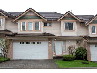 Photo 1: 32 1751 Paddock Street in Coquitlam: Westwood Plateau Townhouse for sale : MLS®# v1000342