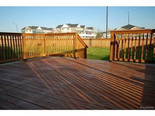 Photo 20: 62 Prairie Sky Drive in WINNIPEG: Fort Garry / Whyte Ridge / St Norbert Residential for sale (South Winnipeg)  : MLS®# 1503707