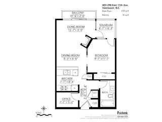 "Photo 19: 403 298 E 11TH Avenue in Vancouver: Mount Pleasant VE Condo for sale in ""SOPHIA"" (Vancouver East)  : MLS®# V1108043"