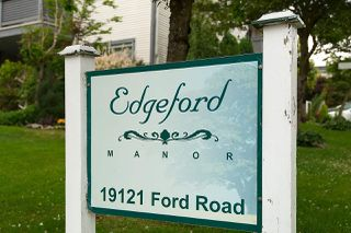 "Photo 2: 208 19121 FORD Road in Pitt Meadows: Central Meadows Condo for sale in ""EDGEFORD MANOR"" : MLS®# R2075500"