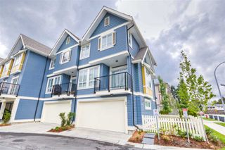 "Photo 1: 23 14388 103 Avenue in Surrey: Whalley Townhouse for sale in ""THE VIRTUE"" (North Surrey)  : MLS®# R2083515"