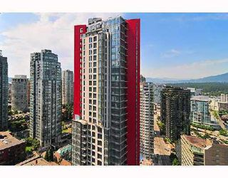 Photo 1: 3204 1211 MELVILLE Street in Vancouver West: Condo for sale : MLS®# V908677