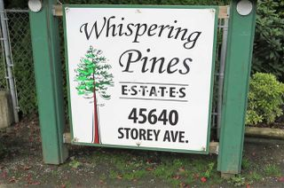 "Photo 20: 5 45640 STOREY Avenue in Sardis: Sardis West Vedder Rd Townhouse for sale in ""WHISPERING PINES"" : MLS®# R2306187"