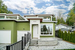 Photo 1: 6437 MARINE Drive in Burnaby: Big Bend House 1/2 Duplex for sale (Burnaby South)  : MLS®# R2374846