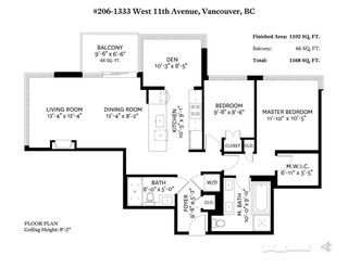 "Photo 20: 206 1333 W 11TH Avenue in Vancouver: Fairview VW Condo for sale in ""SAKURA"" (Vancouver West)  : MLS®# R2384015"
